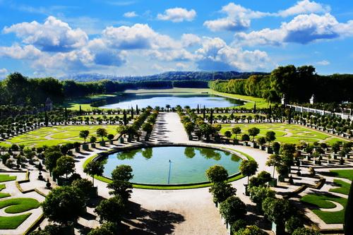 tuin kasteel Versailles