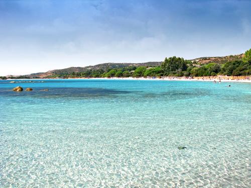 Azuurblauwe zee